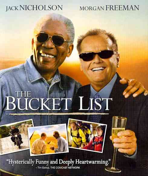 BUCKET LIST BY NICHOLSON,JACK (Blu-Ray)